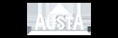 Austa logo white